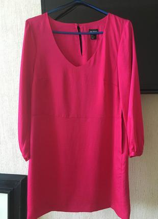 Прямое короткое платье h&m