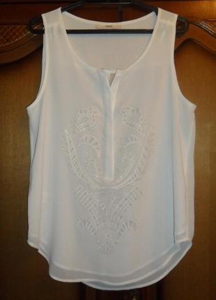 Блуза кремовая (очень красивая)