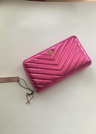 Victoria's secret кошелек оригинал розовый золото подарок