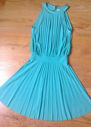 Шикарна шифонова сукня з італії