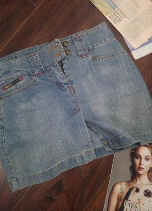 Супермодная юбка джинсовая мини