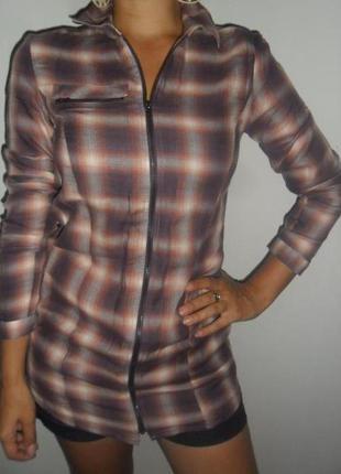 Фирменная рубашка vero moda. р-р s