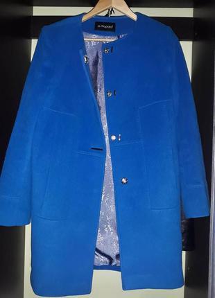 Пальто итальянское шерсть+кашемир альпаки