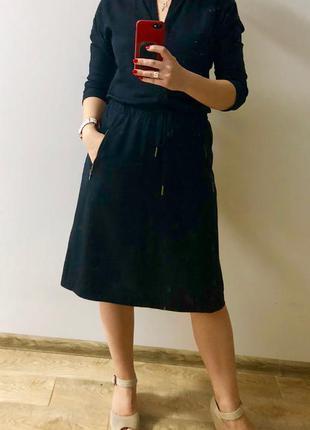 Стильное синее платье marc o'polo