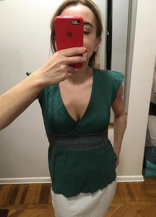 Блуза в этно-стиле с вышивкой