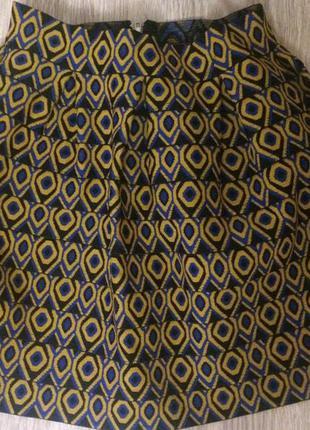 Бандажная юбка держит форму boohoo