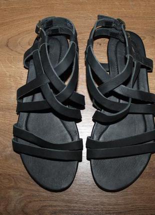 Кожаные босоножки, сандалии teva avalina crossover, 37 размер