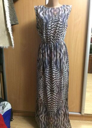 Платье в пол размер 12