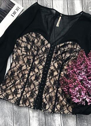 Крутезна блуза по типу корсета від next