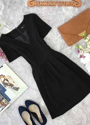 Приталенное платье с v образным вырезом   dr1817170  asos
