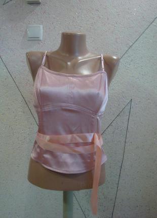 Шикарный модно грязно - розовый цвет комплект лиф с биркой. размер 6-8