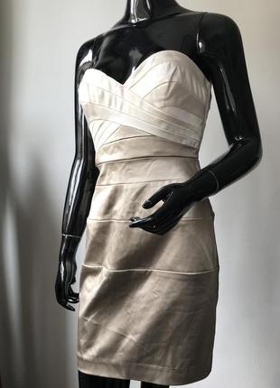 13201ea60f2 Платье вечернее нарядное бандо дорогого американского бренда bebe