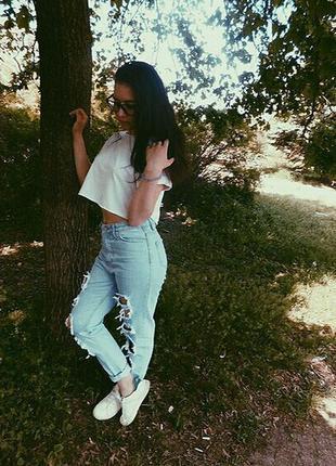 Мам джинсы