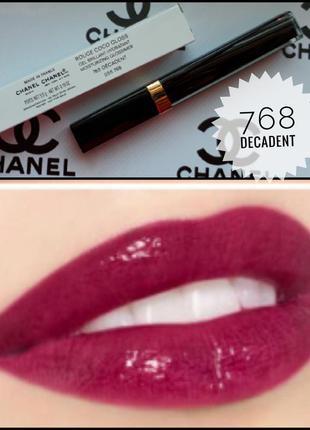 💋chanel rouge coco gloss блеск для губ оригинал💄