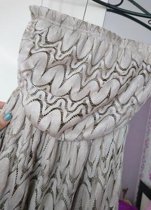 Шикарное кружевное платье ,платье в пол ,платье миди,сарафан ,платье