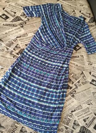 Вискозное летнее платье  marks&spencer