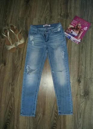 Летние рваные джинсы