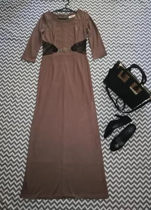 Красивое, длинное,макси,впол, платье