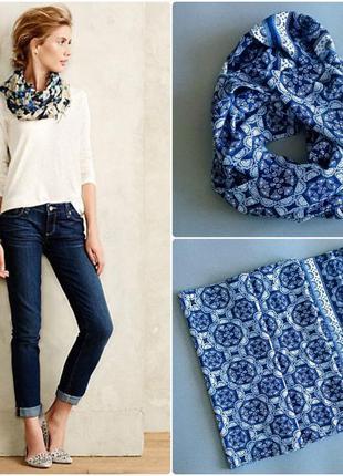 Снуд шарф шарфик платок подарок