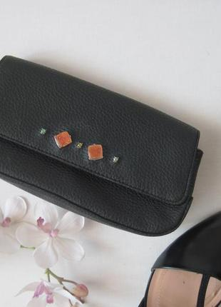 Клатч бренд liz claiborne вечерняя мини сумочка классика держит форму