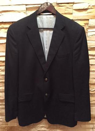 Клубный шерстяной пиджак от дорогго бренда gant , размер 50