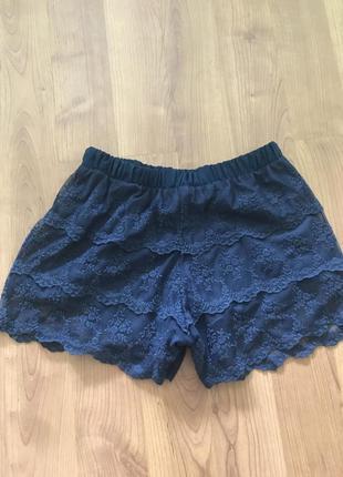 Кружевные шорты pull&bear