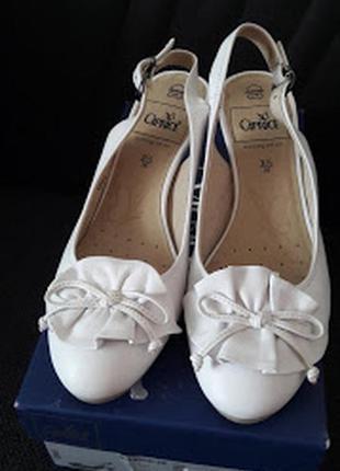 Свадебные туфли сaprice, 36 р. uk 3. 5