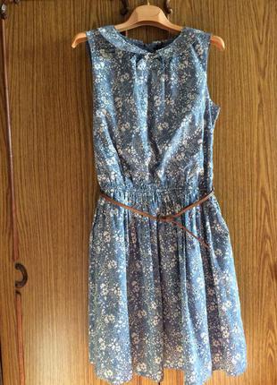 Платье летнее с воротничком от  next