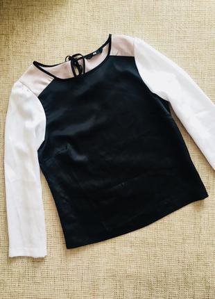 Нарядная блуза от h&m