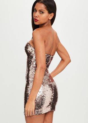 Шикарное вечернее выпускное коктейльные роскошное платье премиум коллекции missguided