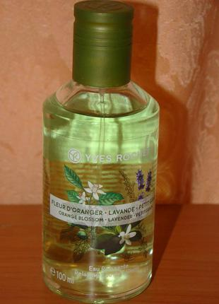 "Туалетная вода ""флердоранж - лаванда - петигрен"" yves rocher аромат"