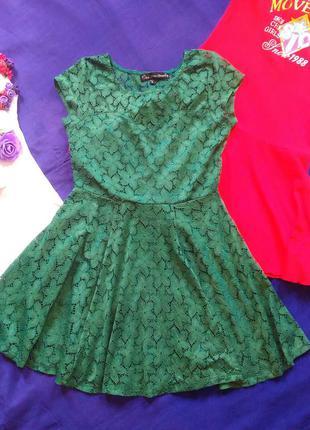 Платье летнее гипюр