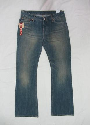 Replay джинсы женские прямой крой размер 29
