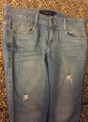Рвані джинси бойфренди calvin klein