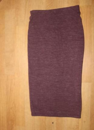 Стильная юбка в обтяжку zara