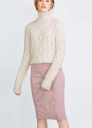 Шикарная юбка миди от zara