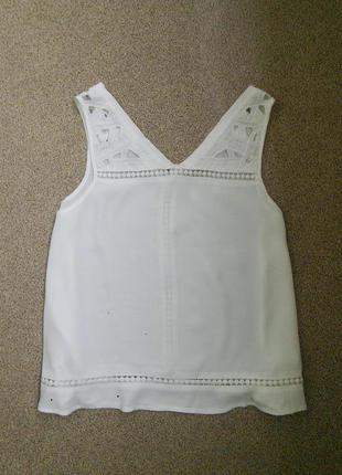 Нежная ажурная блуза