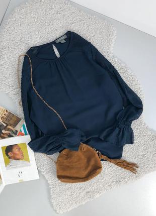Стильная блуза с рукавами воланами primark