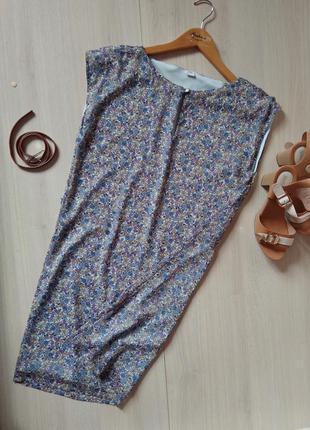Летнее платье цветочный принт s.oliver