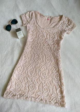 Кружевное платье шикарное вечернее нежное  от miso