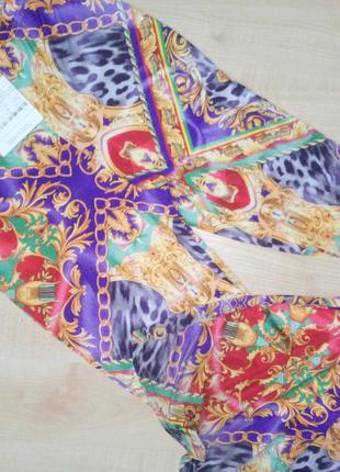 Цветные расклешенные лосины missguided