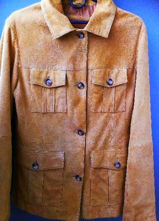 Замшевая куртка timberland  44-46