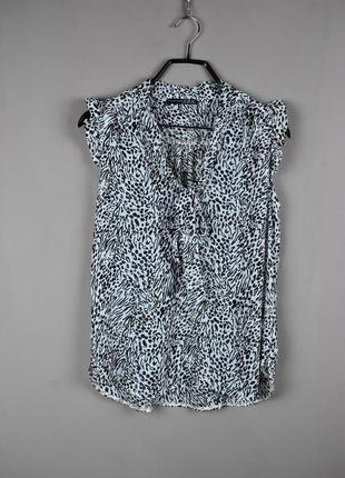 Красивая блуза без рукавов от atmosphere