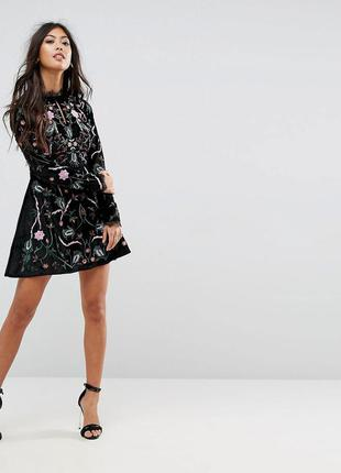 ... Frock and frill розкішна вишита оксамитова сукня2 ... 52aa0d1efff49