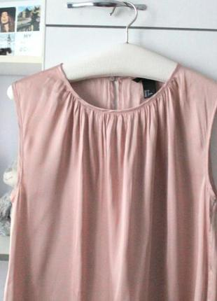 Нежно розовая блузочка от h&m