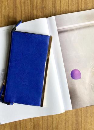 Клатч синий dorothy perkins