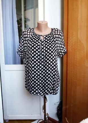 Шелковая блуза gerry weber германия 100% шелк