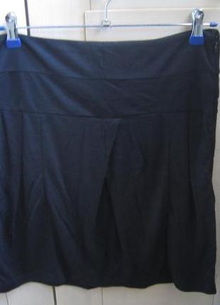 Новая чёрная юбка vila р.м с бирками