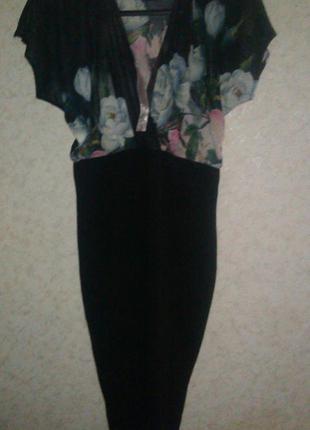 Шикарное платье lipsy