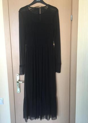 Прекрасное шифоновое платья